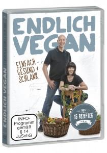 Endlich Vegan DVD Packshot