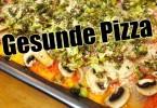 Gesunde Pizza
