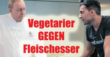 Vegetarier gegen Fleischesser