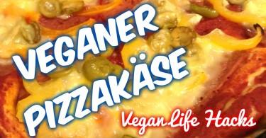 Veganer Pizzakäse