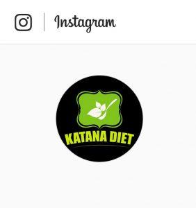 Katana Diet Instagram Button