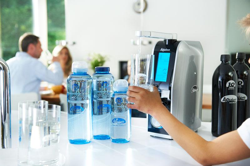Aquion Lebensenergie Trinken
